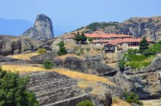 Free Monastery On Meteora Royalty Free Stock Photography - 20354097
