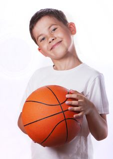 Free Boy And Ball Stock Images - 20354234