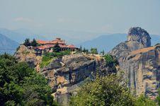 Free Peak Meteora Church Royalty Free Stock Image - 20354666