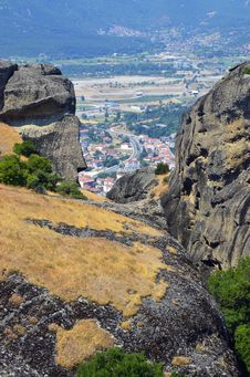 Free Meteora High Royalty Free Stock Image - 20355036