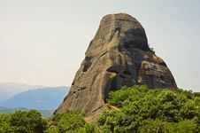 Free Meteora Rock Royalty Free Stock Photos - 20355638