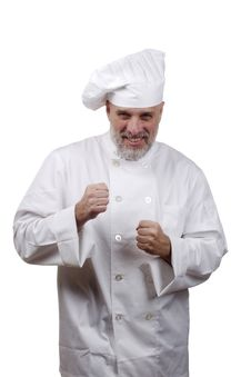 Portrait Of A Chef Royalty Free Stock Photography