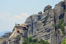 Meteora Rocks Stock Photography