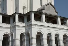 Balkony Of The Ascension Church In   Kolomenskoye Stock Image