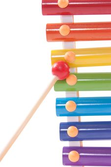 Free Part Of Childs Toy Xylophone Stock Photo - 20356430
