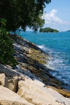 Free Rocky Shore Royalty Free Stock Photo - 20356945