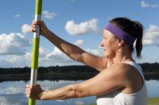 Free Mature Woman Yoga Royalty Free Stock Image - 20356956