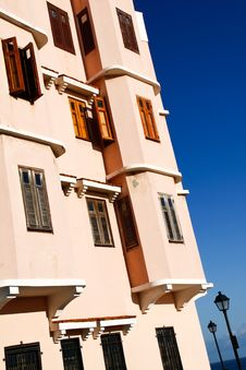 Old San Juan - Colorful Caribbean Architecture Royalty Free Stock Photography