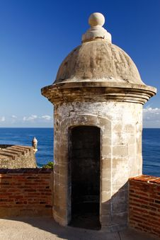 Free San Juan - Fort San Cristobal Sentry Turret Stock Photos - 20357053
