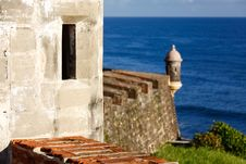 Free San Juan - Fort San Cristobal Look Out Royalty Free Stock Photography - 20357057