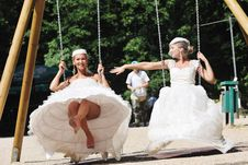 Free Beautiful Bride Outdoor Stock Photography - 20357562