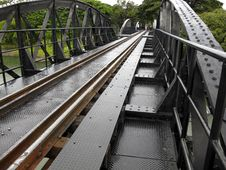Free Bridge Over River Kwai Royalty Free Stock Photo - 20357595