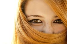 Free Close-up View At Girl S Eyes Stock Images - 20357974