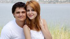 Free Young Couple In The Nature Royalty Free Stock Photography - 20357997