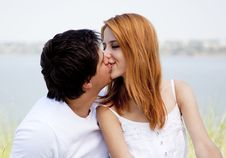 Free Young Couple In The Nature Stock Image - 20358001