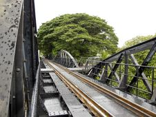 Free Bridge Over River Kwai Royalty Free Stock Photo - 20358035