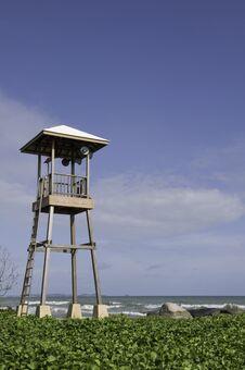 Free Beach Guard Stock Photo - 20358300