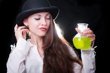 Free Clockwork Girl Royalty Free Stock Photography - 20358317