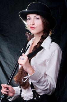 Free Clockwork Girl Royalty Free Stock Photos - 20358378