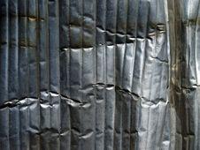 Free Crumpled Metal Background. Stock Photo - 20358520