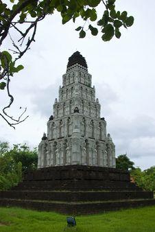 Free Thai Pagoda, Royalty Free Stock Images - 20358559
