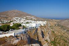 Free Folegandros Town, Greece Royalty Free Stock Photo - 20358635
