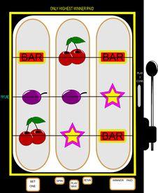 Free Slot Machine Royalty Free Stock Images - 20359399