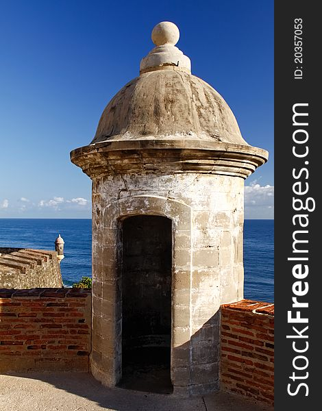 San Juan - Fort San Cristobal Sentry Turret