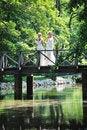 Free Beautiful Bride Outdoor Stock Photos - 20367403