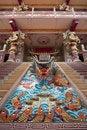 Free Dragon Sculpture At Naja Place Stock Photography - 20368232