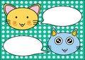 Free Cats Talk Royalty Free Stock Photo - 20368445