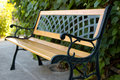 Free Bench In The Garden. Royalty Free Stock Photography - 20369647