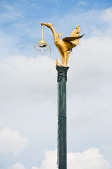 Free The Swan Lamp. Royalty Free Stock Photos - 20360198