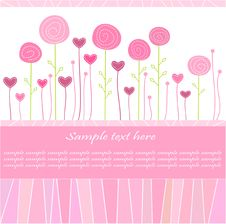 Free Greeting Card/ Valentine S Day Card / Background Royalty Free Stock Photography - 20361867