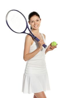 Free Let S Play Tennis Stock Photography - 20362162