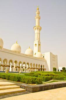 Free Sheikh Zayed Mosque In Abu Dhabi City Stock Photos - 20362763