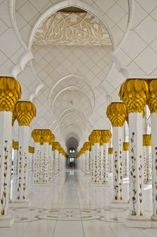 Free Sheikh Zayed Mosque In Abu Dhabi City Royalty Free Stock Image - 20363526
