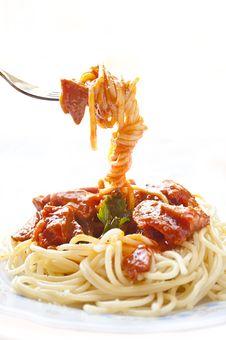 Free Spaghetti Stock Photography - 20363592