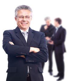 Senior Mature Professor Stock Photos