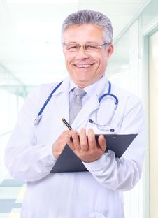 Free Handsome Man Doctor Stock Photography - 20363922