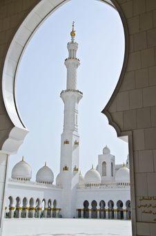 Free Sheikh Zayed Mosque In Abu Dhabi City Stock Photo - 20364140