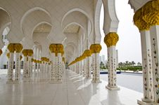 Free Sheikh Zayed Mosque In Abu Dhabi City Stock Photography - 20364562