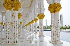 Free Sheikh Zayed Mosque In Abu Dhabi City Stock Photo - 20364620