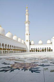 Free Sheikh Zayed Mosque In Abu Dhabi City Stock Photo - 20364890