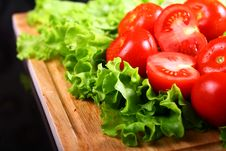 Free Fresh And Wet Tomatoes Stock Photography - 20365192