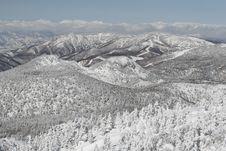 Free Winter Mountains Royalty Free Stock Photo - 20365385