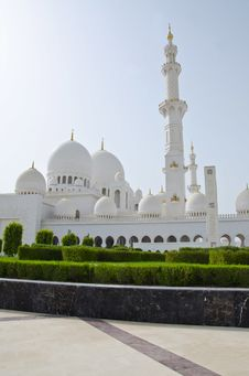 Free Sheikh Zayed Mosque In Abu Dhabi City Stock Images - 20365494
