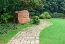 Free Stone Footpath Royalty Free Stock Photography - 20366037