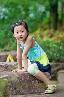 Free Chinese Girl Royalty Free Stock Photos - 20366138
