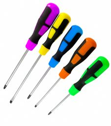 Free Set Of Screwdrivers Stock Photography - 20366452